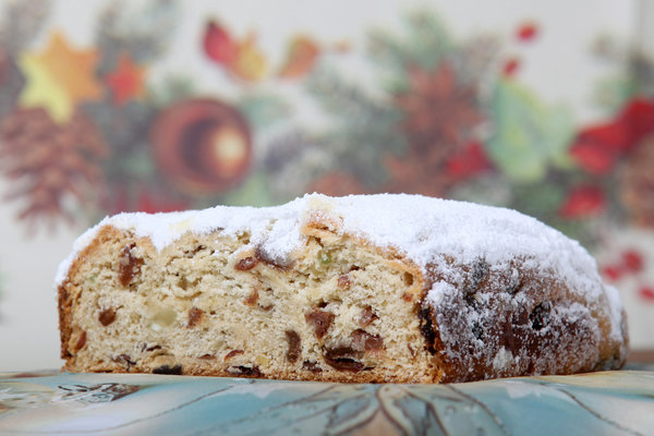 Rosinenstollen - 1000g gezuckert